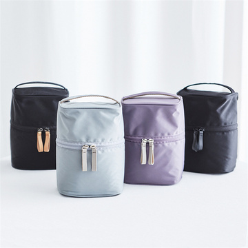 Women Nylon Travel Handle Cosmetic Makeup Packaging Bags