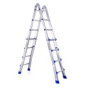 Aluminum telescopic joint ladder