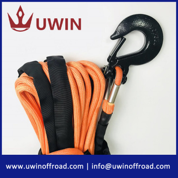 9.5 mm 28m Orange 4x4 Synthetic Winch Rope