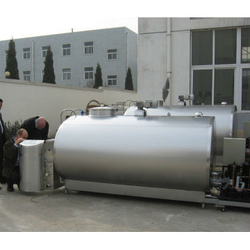 Bulk milk cooler tanks