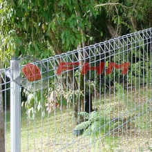 PVC Galvanized Roll Top Fence BRC Fence