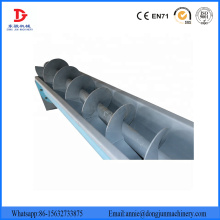Stainless Steel Shaftless Screw Flexible Chip Conveyor