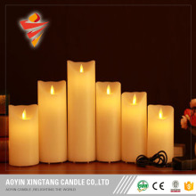 Unique battery Yellow flickering led candle