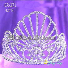 "4""Crystal Princess Crowns For Girls"