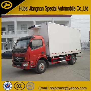Dongfeng 5 ton Small Freezer Lorry Vehicle