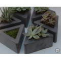 Triangle G654 granite flower pot