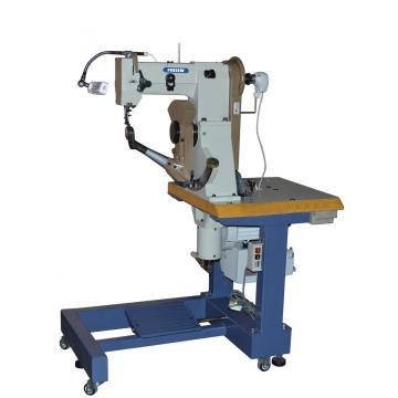 Double Thread Seated Type Side Seam Sole Stitching Machine for Shoes Decorative