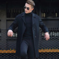 Men's Cashmere Pea Coat