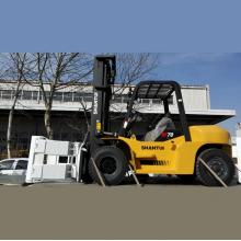 Best Price on for Container Forklift Truck Diesel Forklift Truck 7 Ton export to Bhutan Wholesale