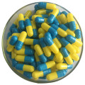 bulk colored empty hard gelatin capsules blue size00