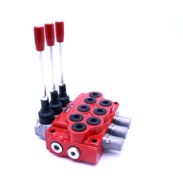 Hydraulic monoblock valve assembly