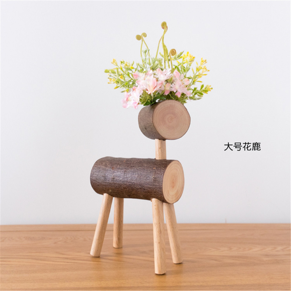 wooden desk decoration