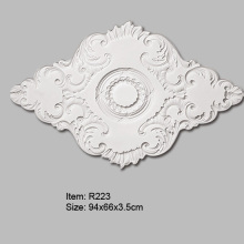 Polyurethane Oval Ceiling Rose