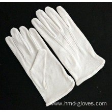 100% White Nylon Cotton Knitted Working Gloves