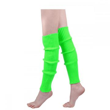 Womens 80S Knitted Leg Warmers Yoga Ballet Accessories