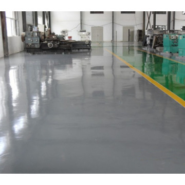 Epoxy flat coating floor paint for workshop