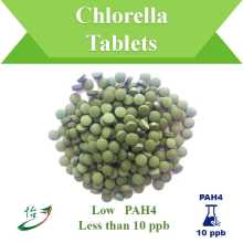 PAH4 Below 10 ppb Chlorella Tablets