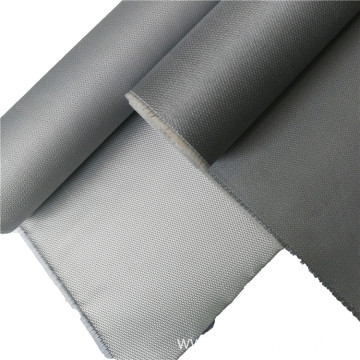 Fireproof curtain fabric silicone rubber