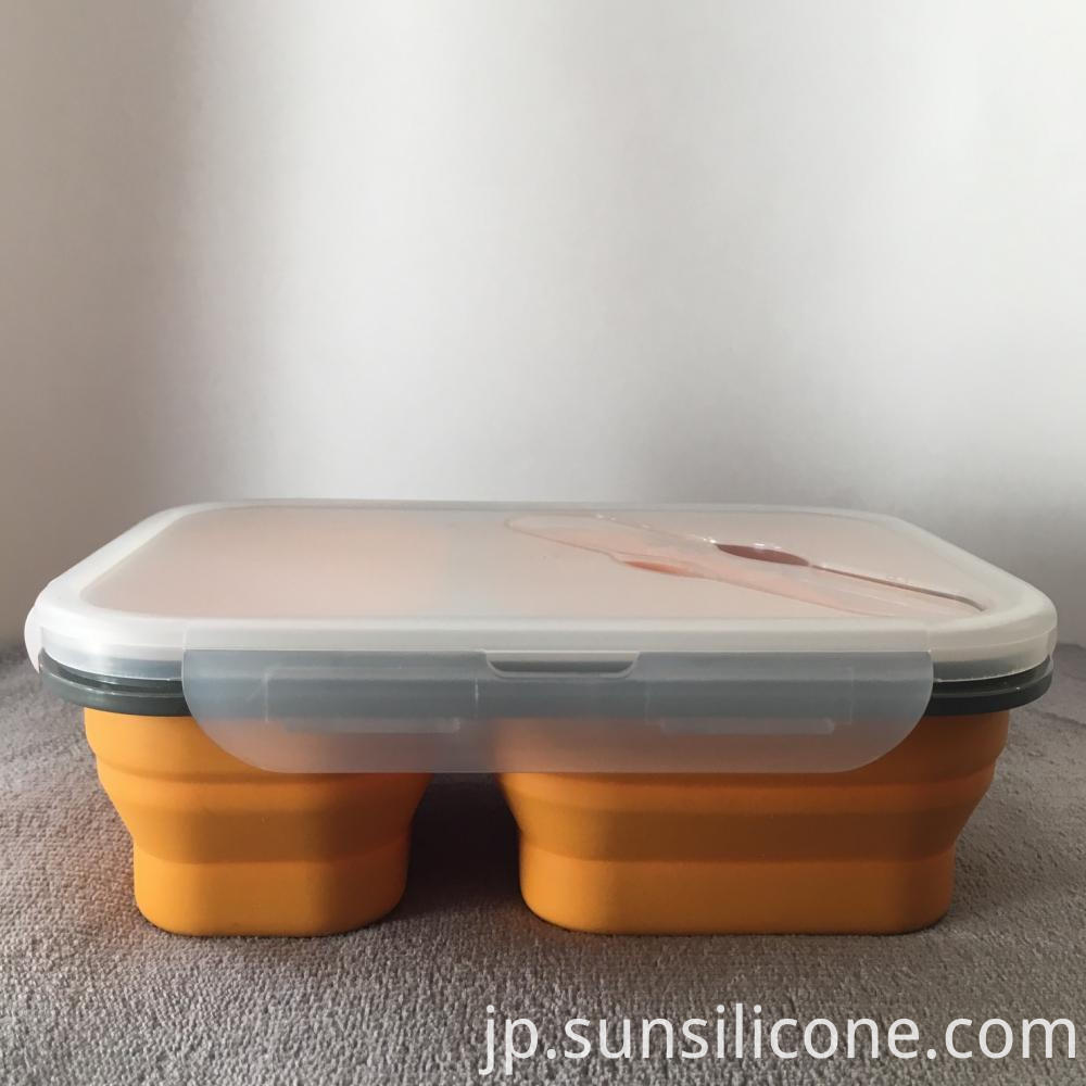Silicone Bento Lunch Box