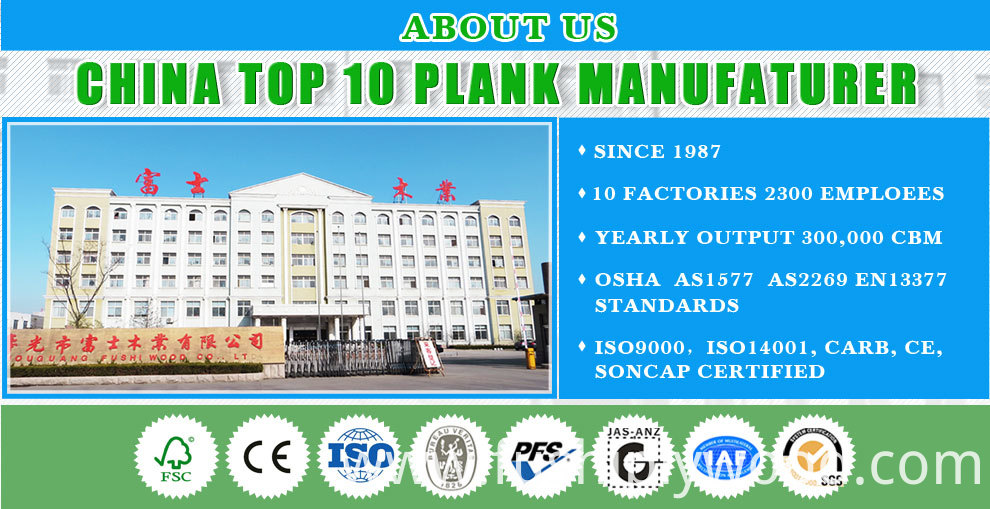 5.Our group show We are a large scale manufacturer of OSHA LVL scaffolding plank, AS1577-1993 LVL scaffolding plank, H20 beams, marine plywood for concrete formwork, furniture and MDF. Combining 20 years of wood products experience with the lower manufacturing prices in China makes it possible for us to sell quality products at much lower prices.