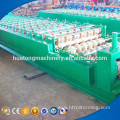 Factory direct sell roof sheet double layer rolling machine