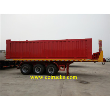 Tipper Semi Trailer Trucks with 3 Axles