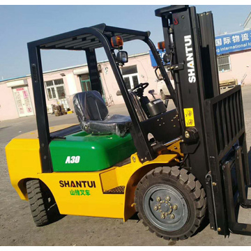 Cheap Diesel Forklift Price 3 Ton Manual Type China Manufacturer