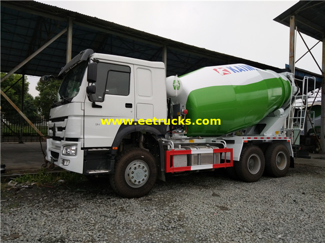 SINOTRUK Cement Mixing Vehicles