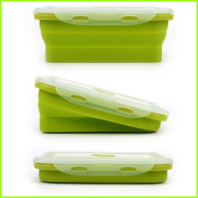 China Top 10 for Collapsible Silicone Lunch Box Set Of 4 Silicone Folding Lunch Box export to Kazakhstan Factory