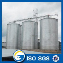 Factory source manufacturing for Flat Bottom Silo Grain Storage Bins Bolted Steel Silo supply to South Korea Exporter
