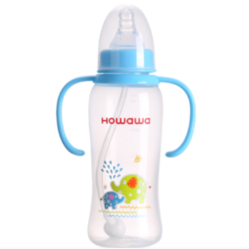 Infant Milk Nursing Bottle With Handle 9oz