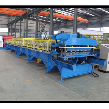 Glazed Tile Steel Roofing Making Machine