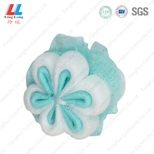 body loofah shower scrubber mesh bath foam sponge