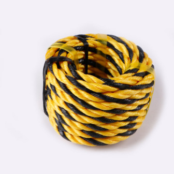 Twisted polypropylene rope tiger rope
