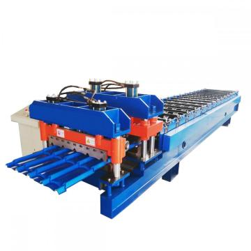 Factory best selling for Corrugated Glazed Tile Roll Forming Machine Full Automatic Glazed Tile Roll Forming Machine export to Bangladesh Importers