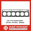 CAT 3116 Graphite 6 Cylinder Head Gasket 1077832 4P6930