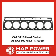 Best Price for for Engine Sealing Parts CAT 3116 Graphite 6 Cylinder Head Gasket 1077832 4P6930 export to France Metropolitan Importers