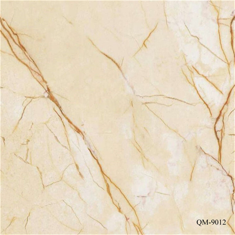 The 1220*2440*3.5mm uv laminated hard pvc marble panel