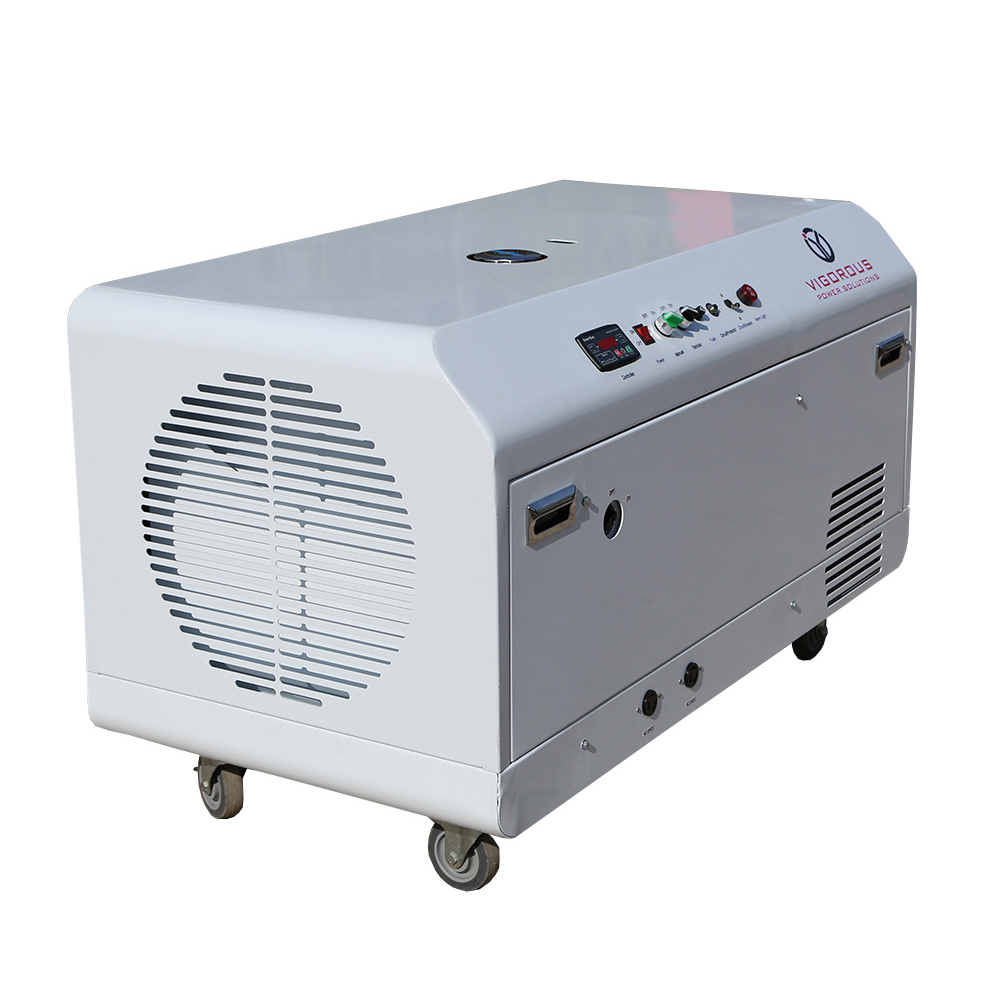 5000 Watts Silent Type Natural GasLiquefied Petroleum Gas Generator