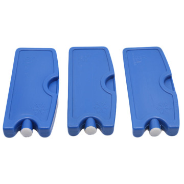 Plastic Cooling Ice Pack Removable For Cooler Bag