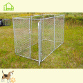 Large Galvanized Chain Link Kennel Fence