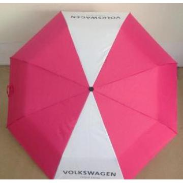 Promotional logo printed 3 folds advertising umbrella