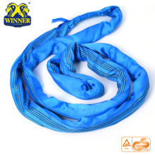 8T Strength Lifting Lashing Endless Polyester Round Sling