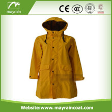 High Grade PU Raincoat for Adult