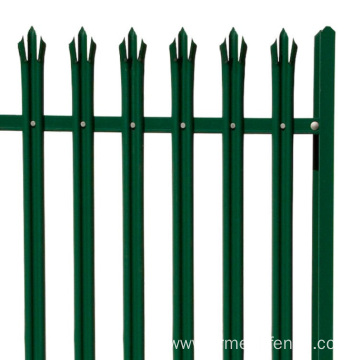 garden decoration steel European palisade fence