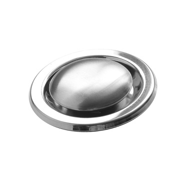 stainless steel  soap with stand