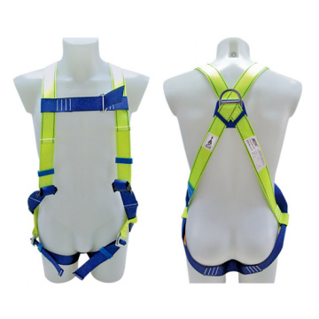 Polyester Support Industrial Full Body Safety Harness