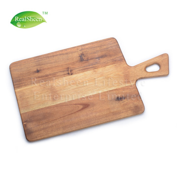 Paddle Acacia Wood Serving Board With Handle
