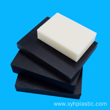 White Black Plastic Sheets Stock