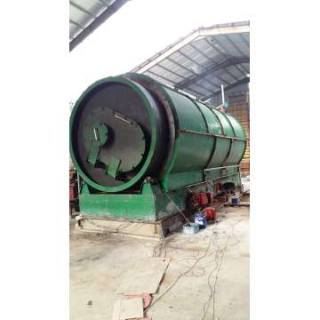 newly developed waste tire pyrolysis machines